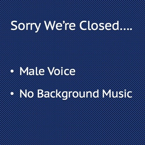 Sorry we're closed, Make Voice